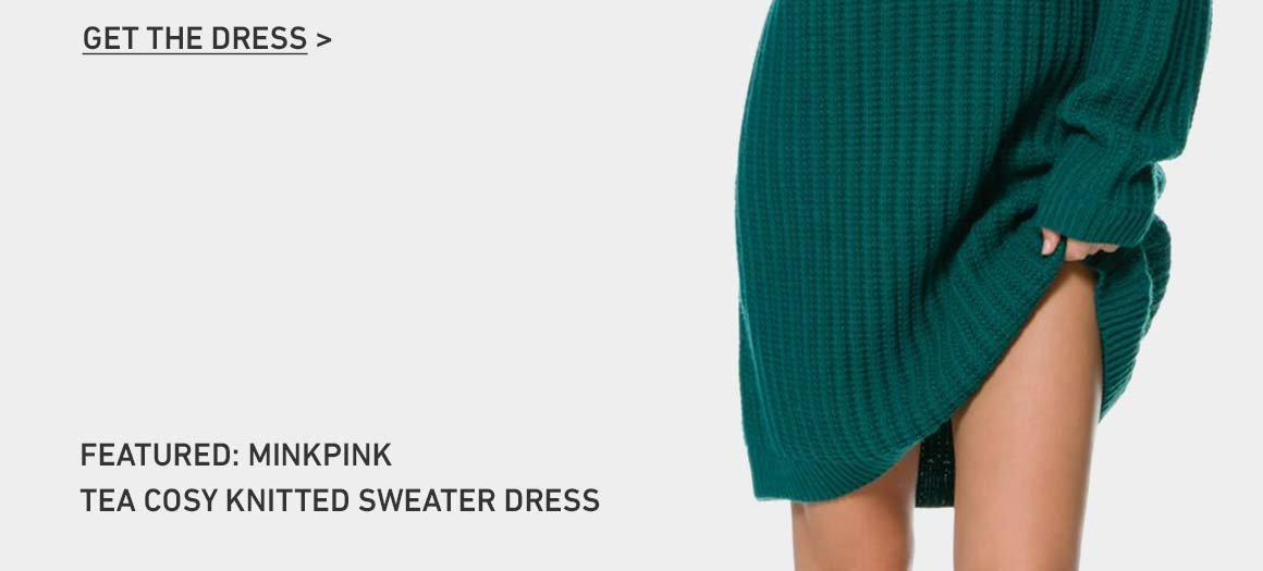 Get The Ultimate Sweater Dress