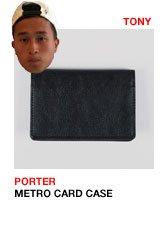 Porter Metro Card Case
