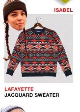 Lafayette Jacquard Sweater