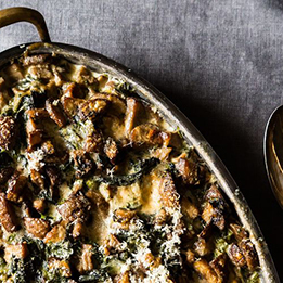 Spinach & Mushrooms