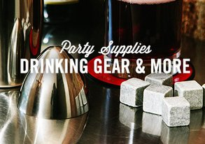 Shop Party Supplies: Drinking Gear & More