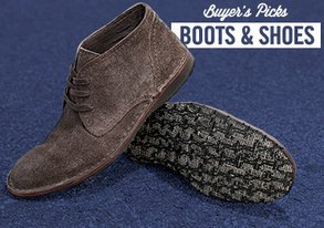 Shop Buyers' Picks: Boots & Shoes