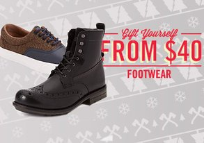 Shop Gift Yourself: Footwear from $40