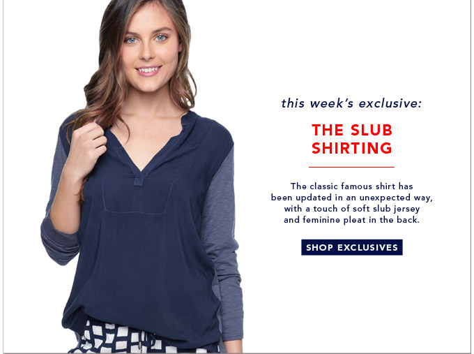 The Slub Shirting - Shop Exclusives