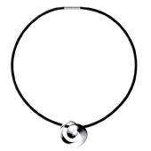 Continuity Silver Necklace