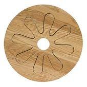 Oval Oak Trivet 2 Pieces