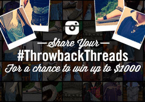 Shop Share Your Throwback Threads
