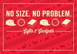 Shop No Size, No Problem: Gifts & Gadgets