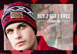 Shop Buy 2 Get 1 Free: Beanies