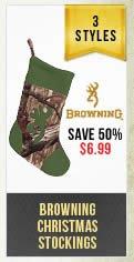 Browning Christmas Stockings