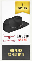 Sheplers Felt Hats