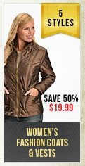 Womens Fashion Coats and Vest