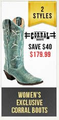 Womens Corral Boots