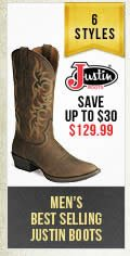 Mens Best Selling Justin Boots