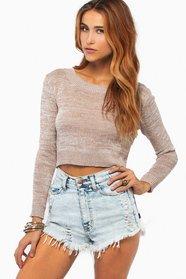 Sabrina Cropped Sweater