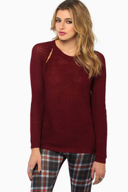 On A Good Day Sweater