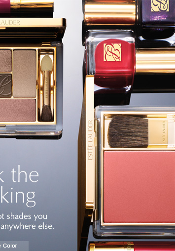 Rock the Stocking Holiday-hot shades you  won't find anywhere else.  Shop Pure Color »