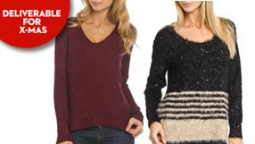 gift ideas: chunky cable sweaters