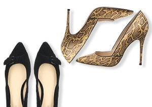 The Pointed Toe: Flats & Pumps