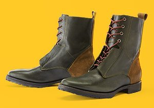 Rugged & Refined: Lace-Up Boots