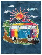 Batik Tour Bus T-Shirts