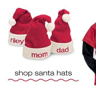 shop santa hats