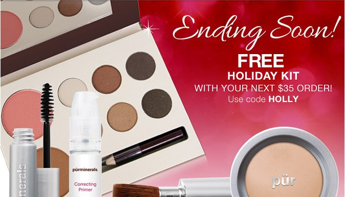 ENDING SOON: Free Holiday Kit with Your Next $35 Order!