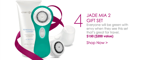 Jade Mia 2 Gift Set - Everyone will be green with envy when they see this set, that's great for travel. $150 ($200 value) Shop Now