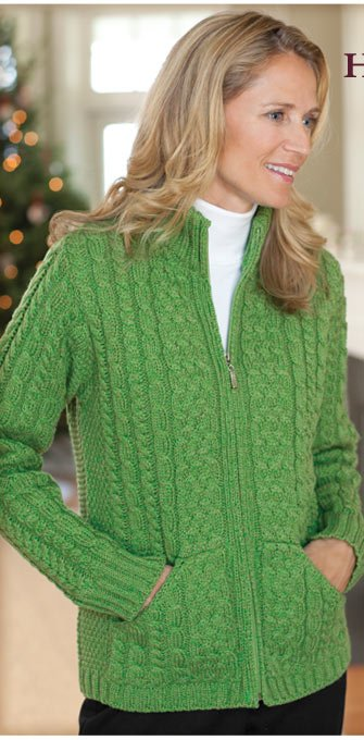 """I bought this sweater as a Christmas gift for my mom and she was very pleased with it. I knew that I could count on Orvis for a high quality product and one that would fit. The fact that I could get it there at a very last  minute was an added bonus! Thanks for coming through."" -orvis.com customer, Vienna, Virginia"