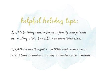 Helpful Holiday Tips