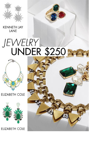 JEWELRY UNDER $250