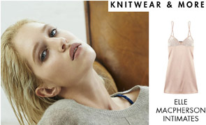 A STYLISH NIGHT IN - KNITWEAR & MORE