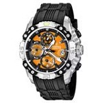 Festina F16543-7 Men's Chrono Bike Tour De France Orange Dial Rubber Strap Steel Watch