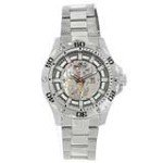 Invicta 15228 Men's Specialty Python Mechanical Silver Skeleton Dial Steel Bracelet Watch
