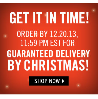DELIVERY BY CHRISTMAS