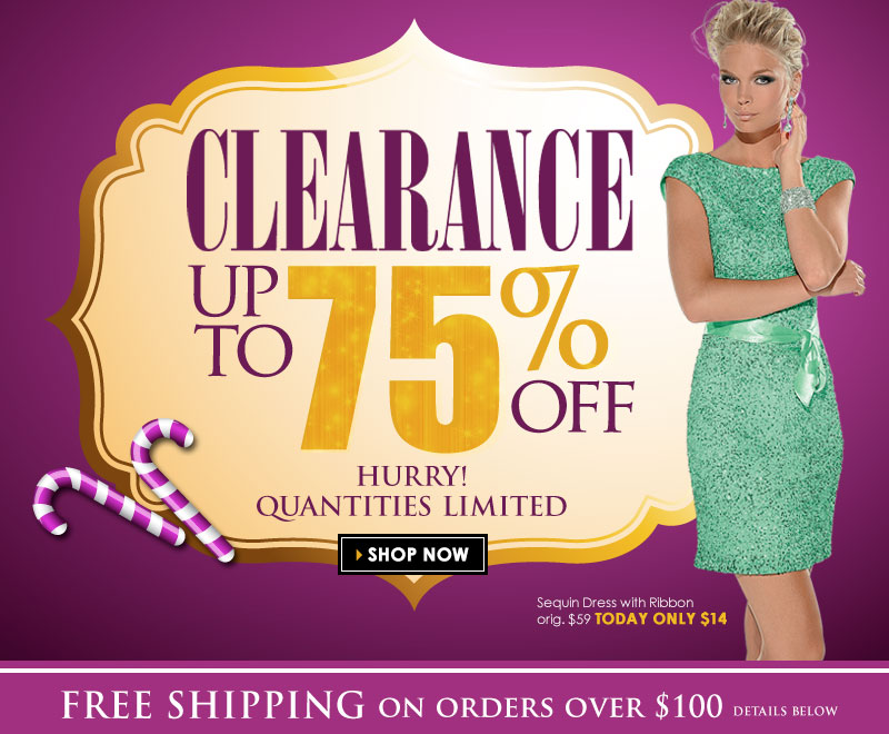 Today Only, Up to 75% OFF, Sunday Clearance Event! SHOP NOW!