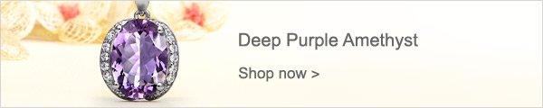 Deep Purple Amethyst
