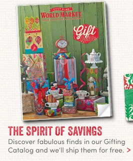 Discover fabulous finds in our Gifting Catalog