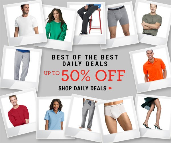 Up to 50% off Daily Deals