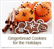 Gingerbread Cookies for the Holidays