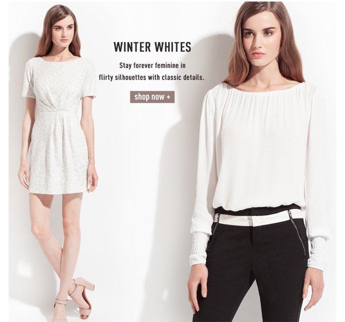 Winter Whites - Shop Now