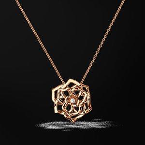 Piaget Rose pendant - G33U0070