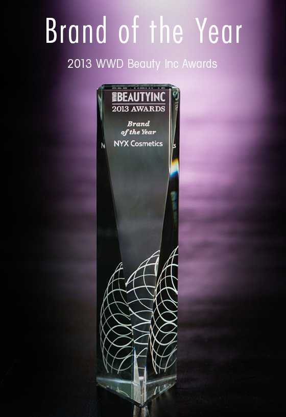 Brand of the Year 2013 WWD Beauty Inc Awards