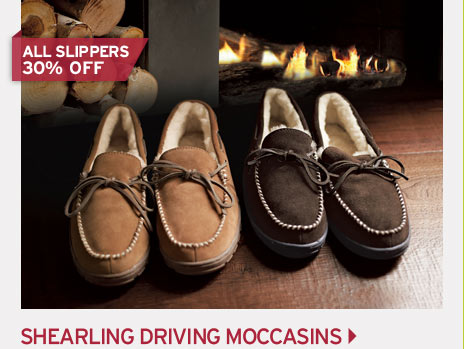 Shop Shearling Driving Moc