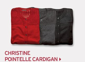 Shop Christine Pointelle Cardigan Sweater