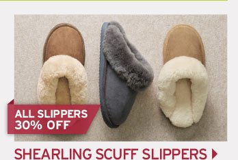 Shop Shearling Scuff Slippers