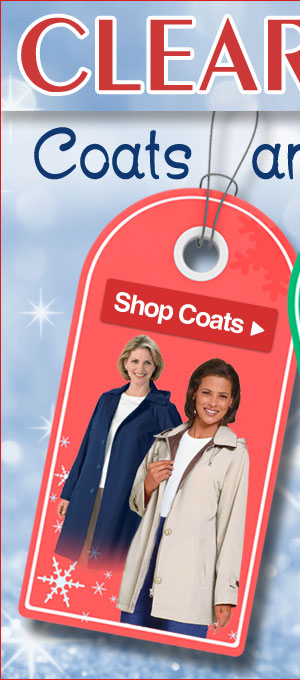 Clearance Coats - Savings up to 70% - Limited Quantities - Shop Now >>