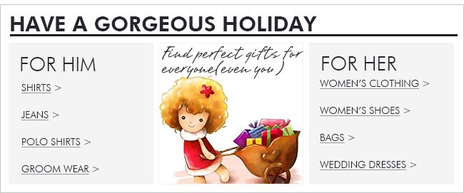 Have a gorgeous Holiday