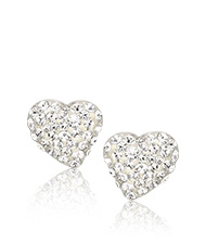 Alana Clear Crystal Pierced Earrings