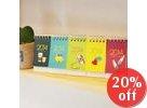 Set of 5: Mini 2014 Calendar
